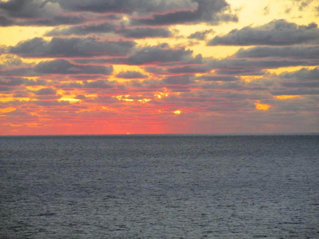 14.12.19 Sea day Sunset 4