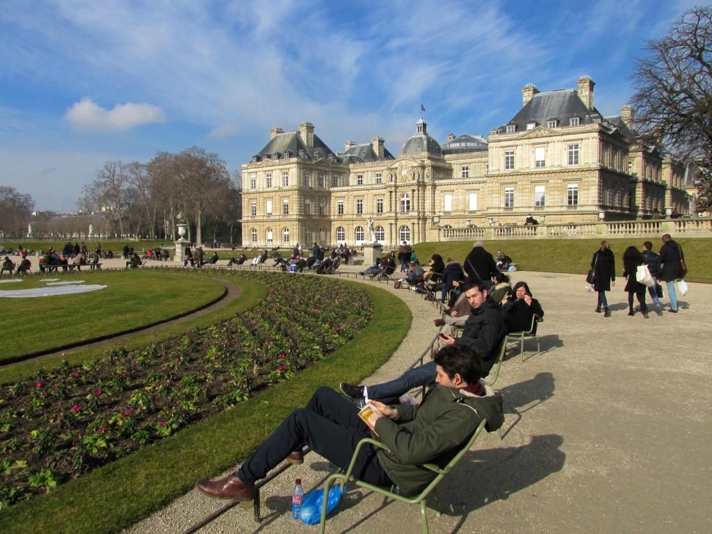 15.02.16 Luxembourg Garden