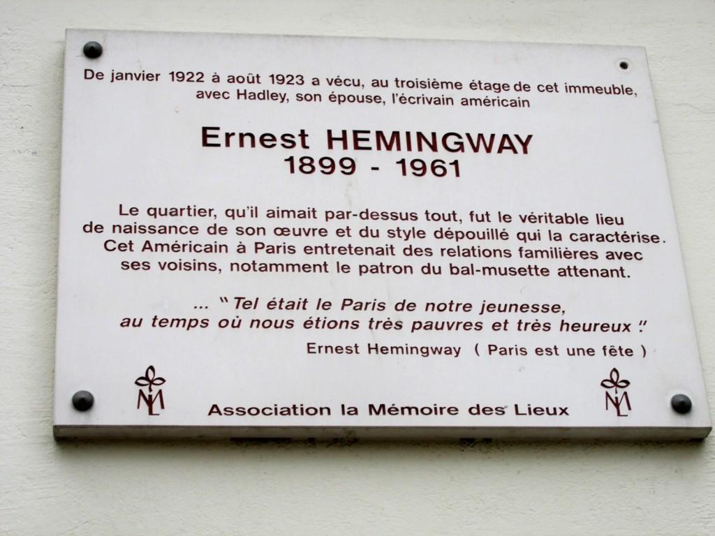 15.02.16 Moufftard Home of Hemmingway