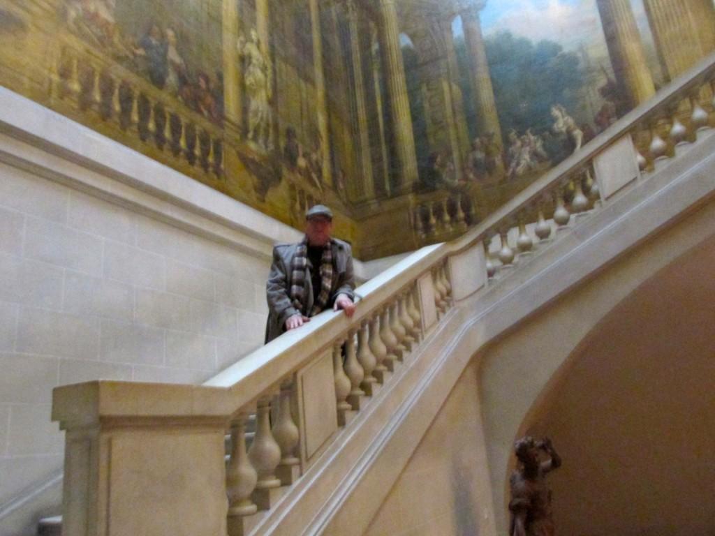 15.02.17 Marais Carnavalet Museum Stairway 2