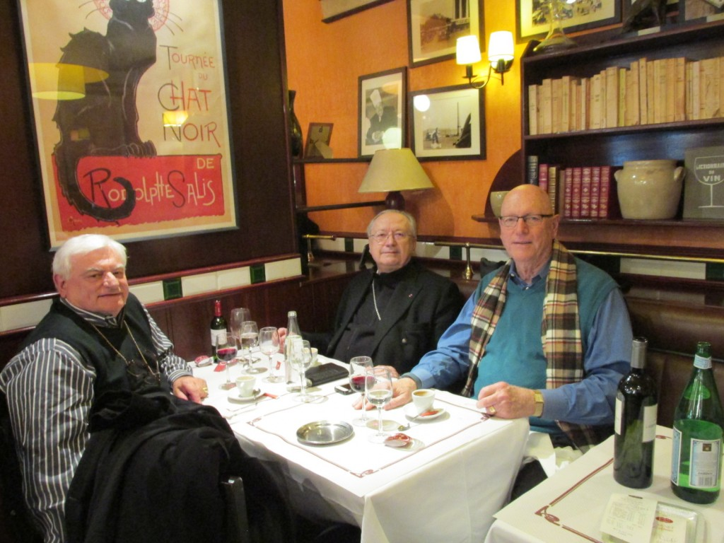 15.02.20 Paris Dinner with Archbishop Doré