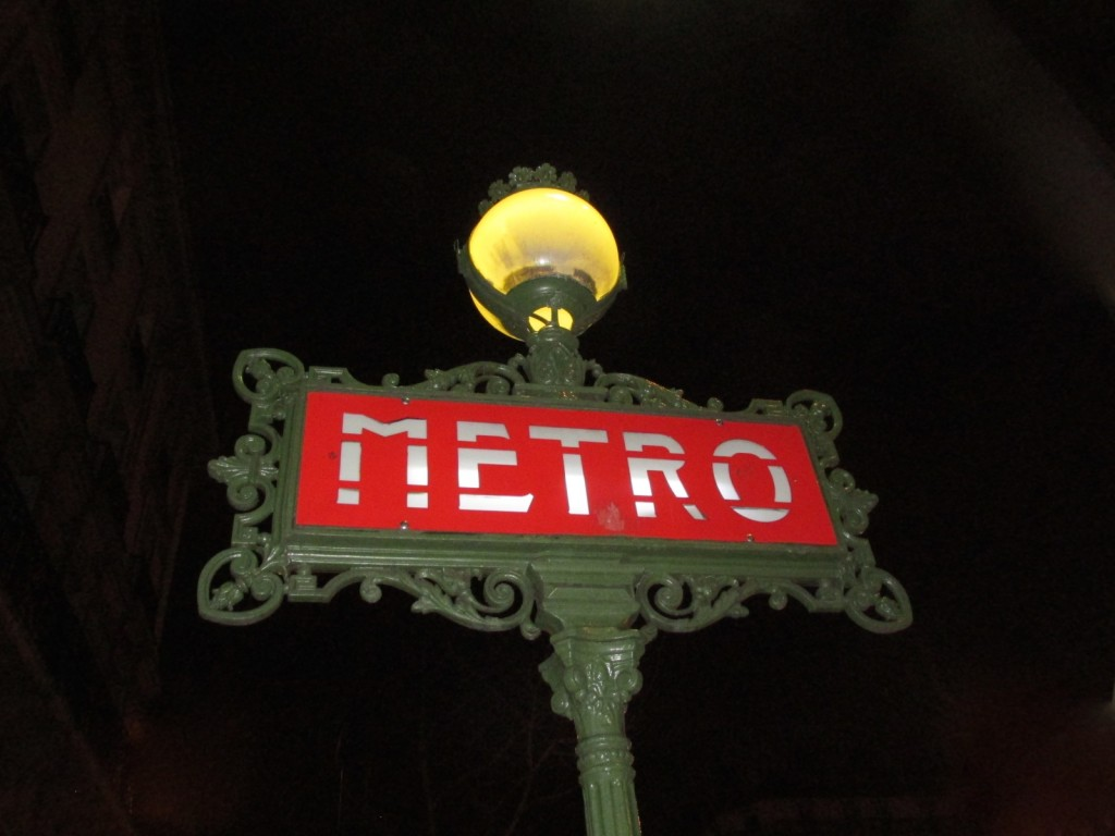 15.02.21 Paris Metro Sign