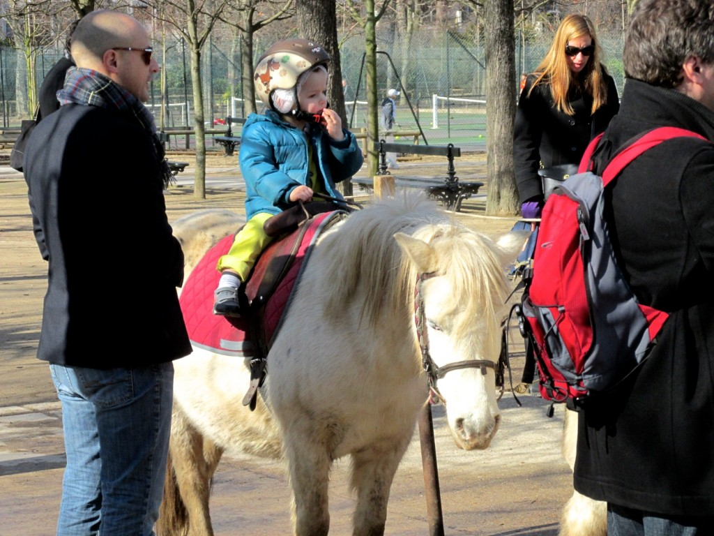 15.02.22 Paris Luxembourg Garden Pony Rides 2
