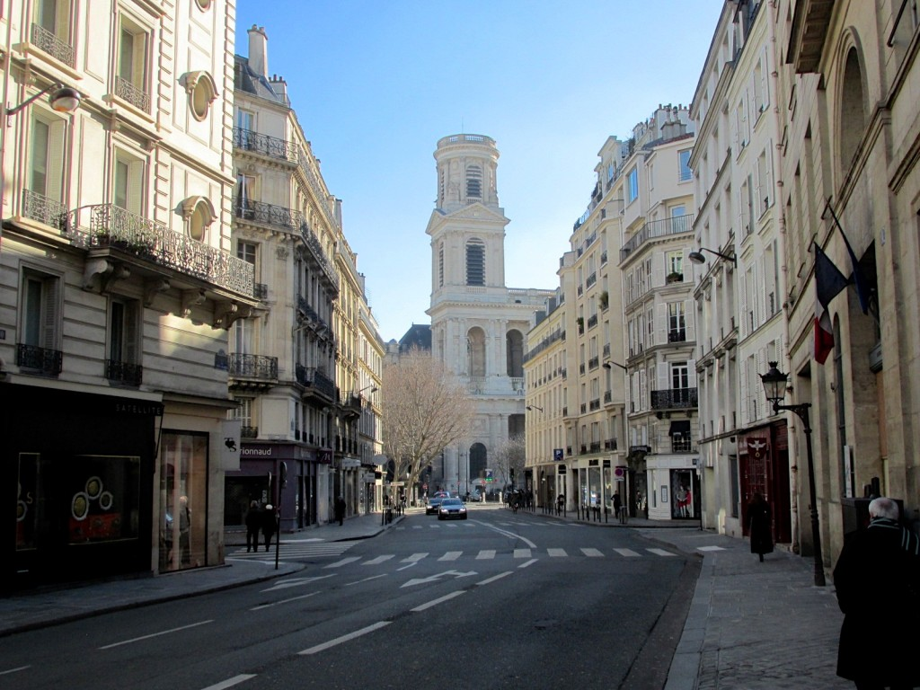 15.02.22 Paris Tower of St Sulpice