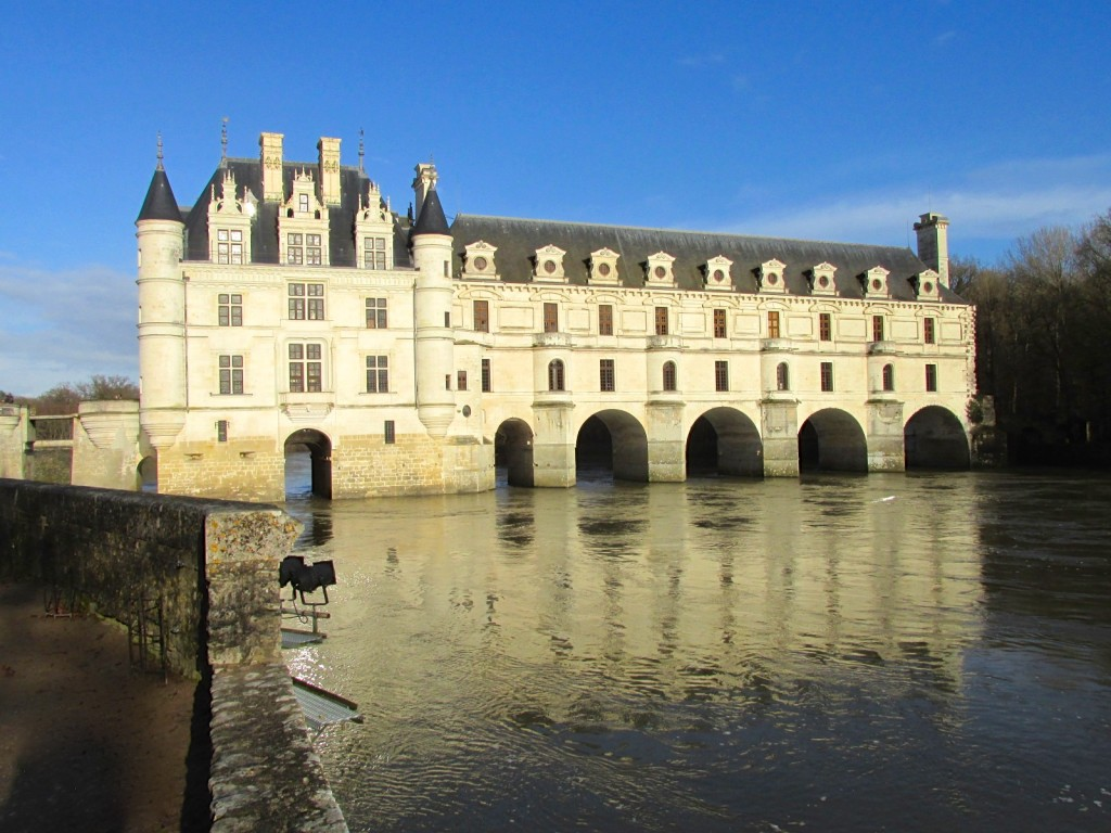 15.02.24 Chenonceau from Catherine's Garden 2