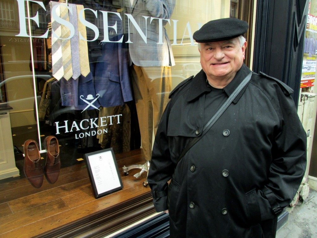 15.02.25 Paris James Hackett at his store
