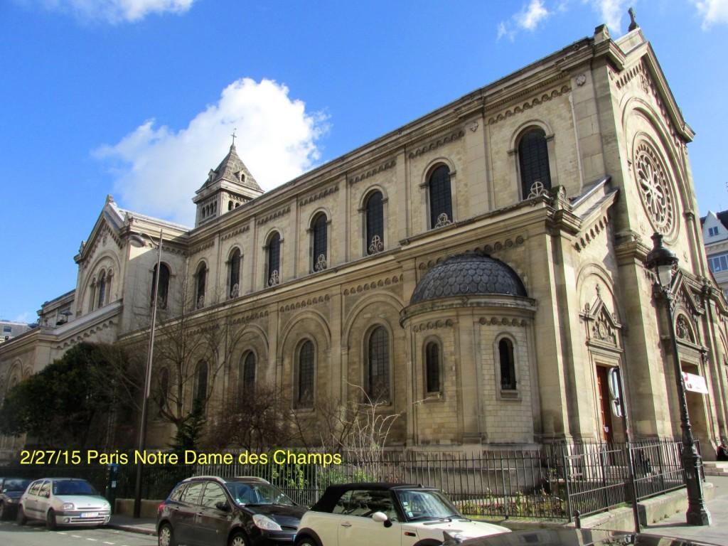 15.02.27 Paris Notre Dame des Champs 1
