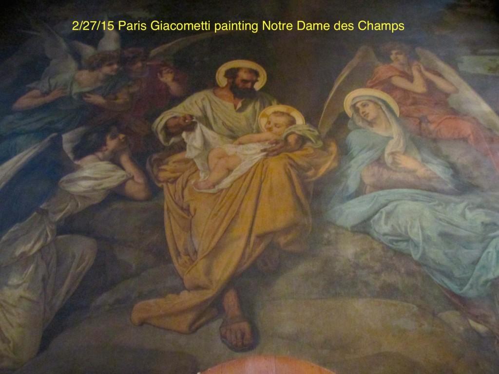 15.02.27 Paris Notre Dame des Champs 2 Giacometti